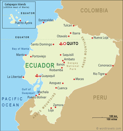 Aaa Living In Cuenca Ecuador Coastal Drive From Salinas To Manta